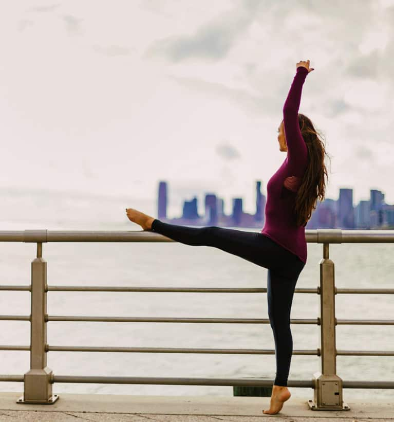 3 Barre Exercises To Increase Blood Flow While Working At A Desk