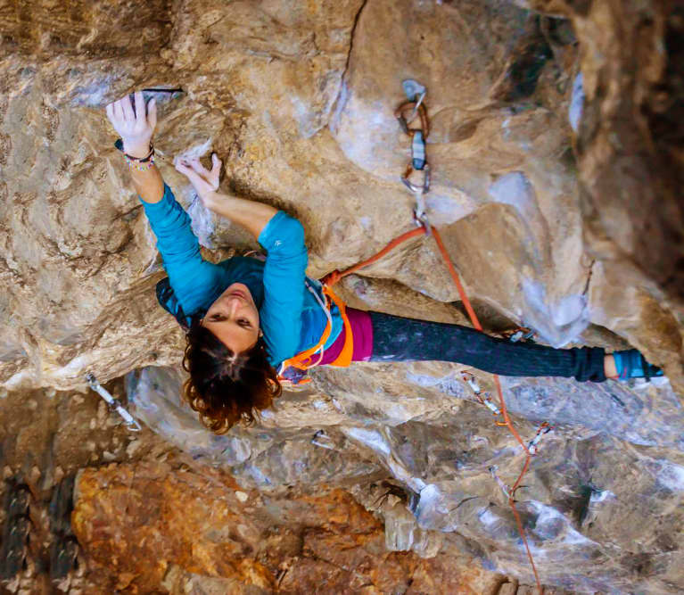 Why This Woman Left Her Job To Become A Full-Time Rock Climber