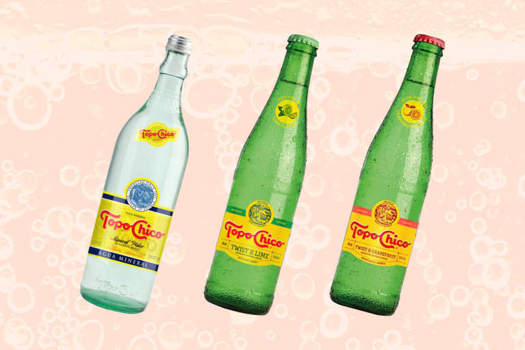 Topo Chico mineral waters