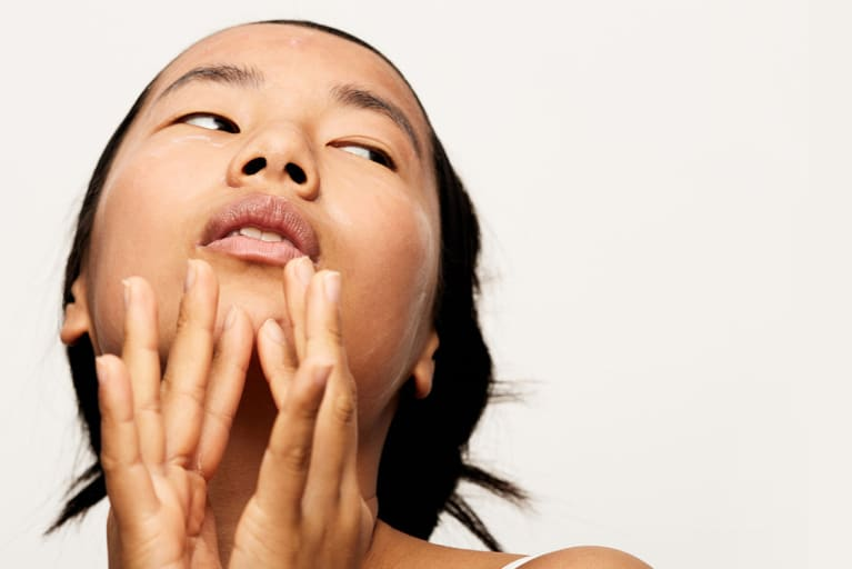 This 2-Step Facial Massage Can Help Smooth Away Laugh Lines & Firm The Skin
