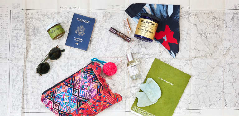 Cannabis Oil & Gratitude Journals: The Suitcase Essentials This Yogi Never Travels Without
