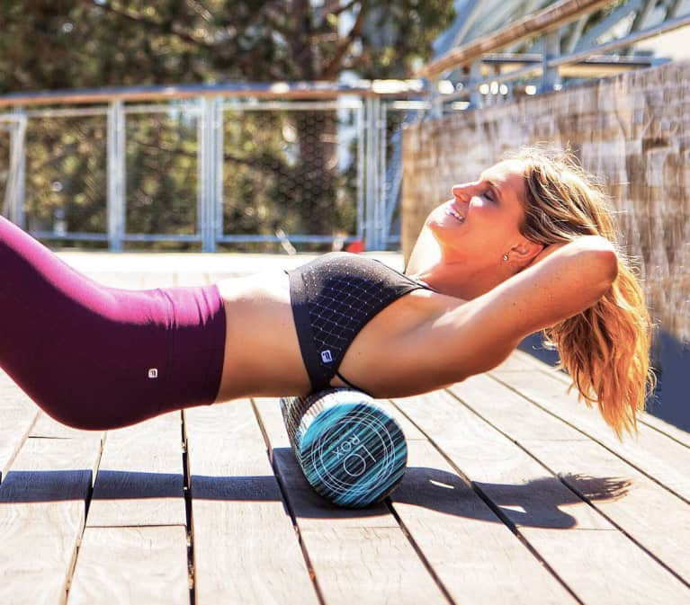 6 Awesome Health Benefits Of Using A Foam Roller