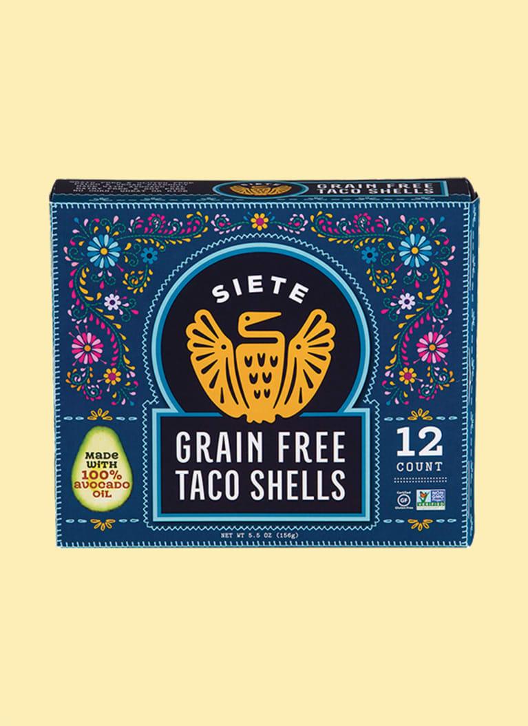 Siete Family Foods Grain-Free Taco Shells