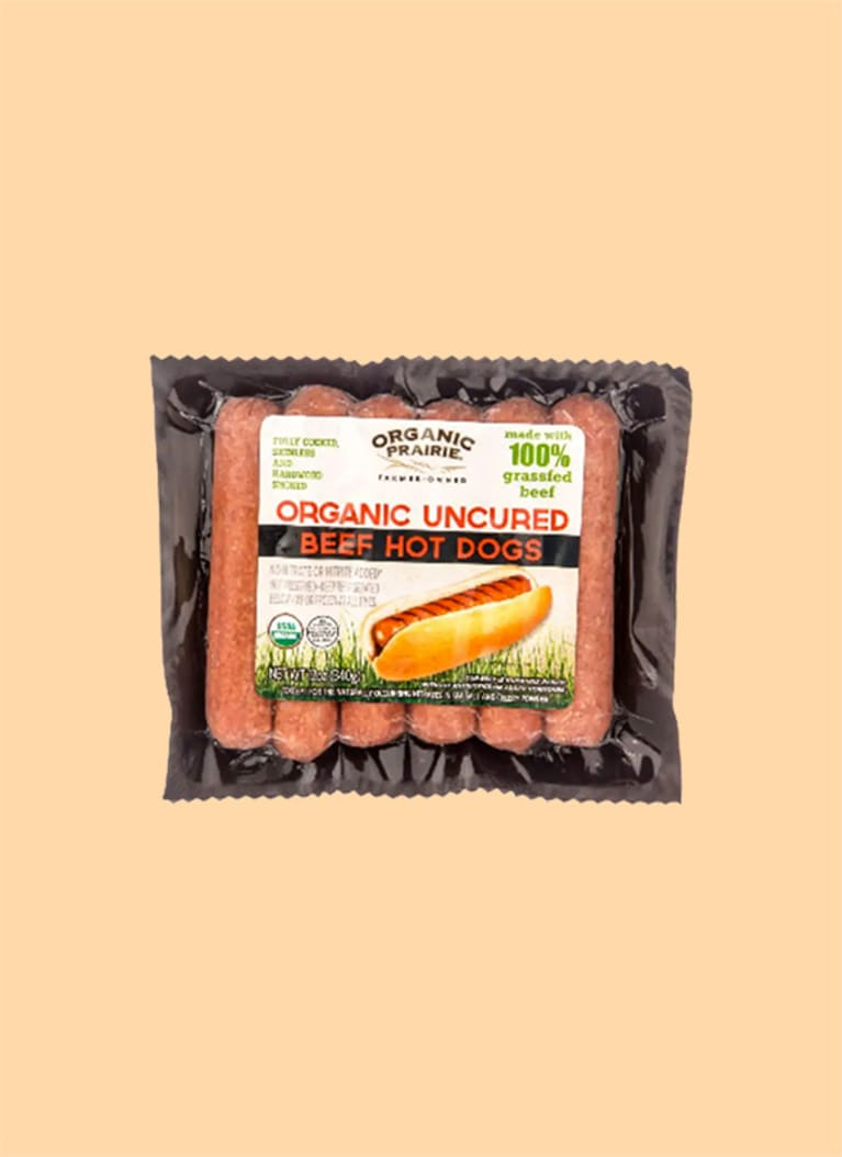 Organic Prairie 100% Grass-Fed Beef Hot Dogs
