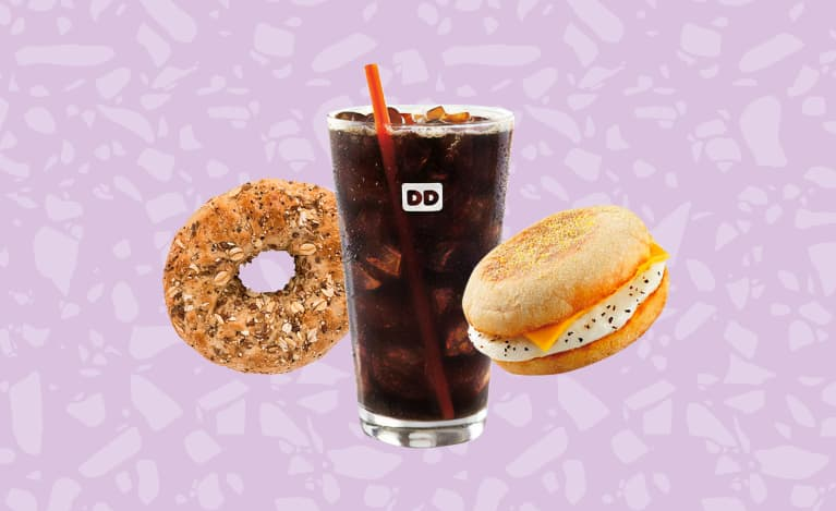 The Healthiest Foods At Dunkin', According To Nutritionists
