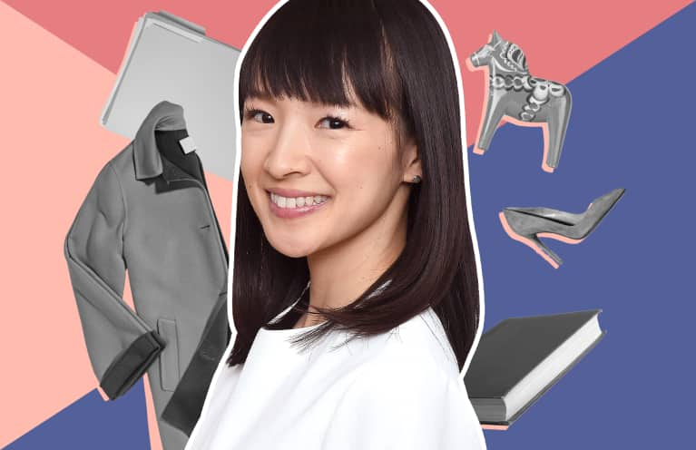 Marie Kondo Sparknotes collage