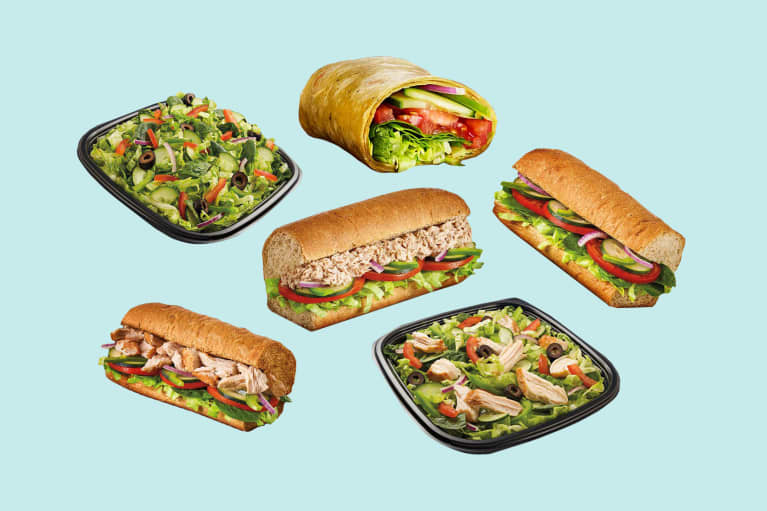 The Healthiest Foods at Subway, According To Nutritionists