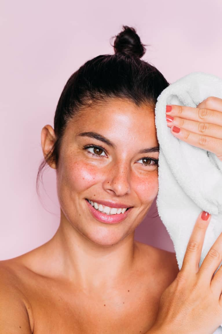 (12/31/20) Towels Can Act As A Physical Exfoliant: Here's What To Know