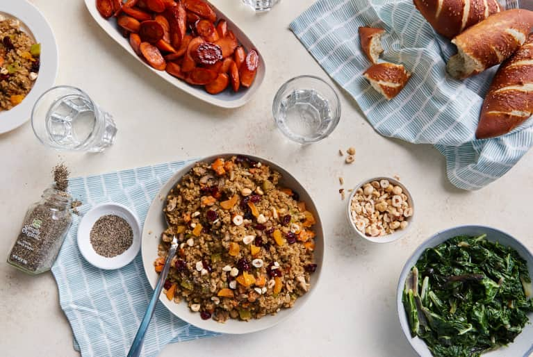 No One Will Ever Guess That This Stuffing Is Made With Cauliflower