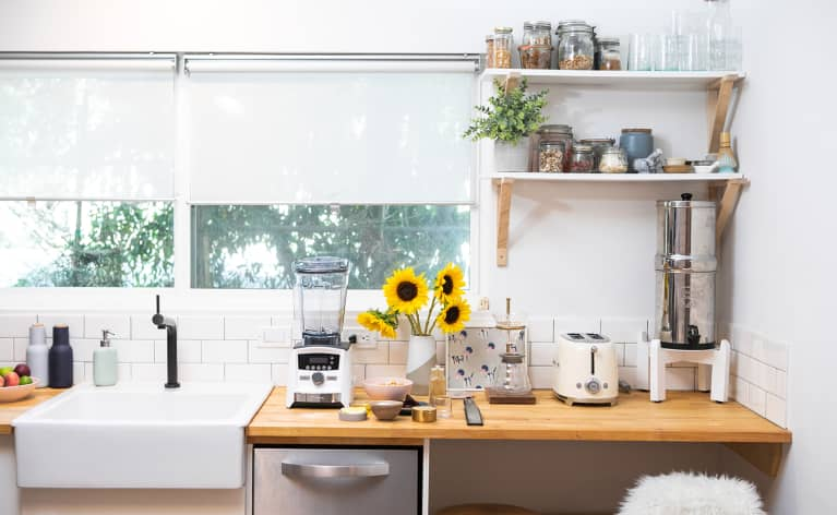 Essentialism Rules In This LA Food Photographer's One-Room Studio