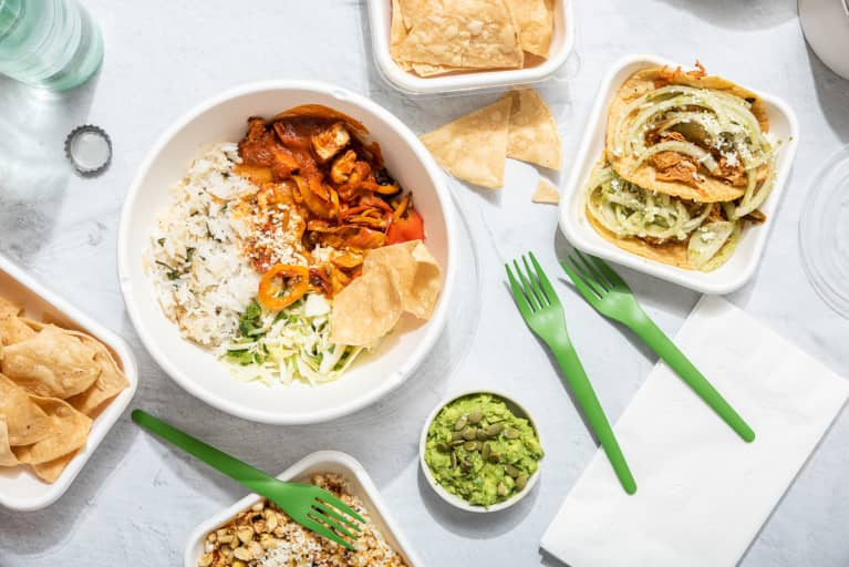 Modern Mexican food takeout and delivery