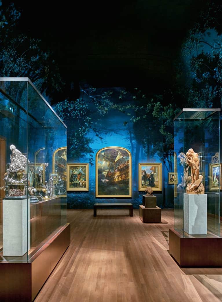 Le Pavillon pour la Paix Michal et Renata Hornstein, niveau 1 – Les Salons de la Belle Époque: le sentiment romantique. Musée des beaux-arts de Montréal.