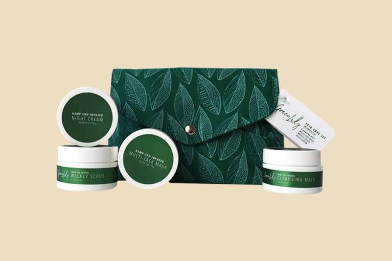 <p>Green Lily CBD Skin Care Set</p>