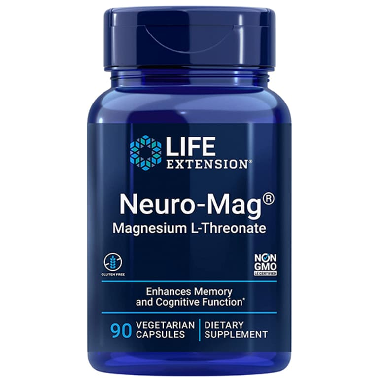 Best for cognitive function: Life Extension Neuro-Mag® Magnesium L-Threonate