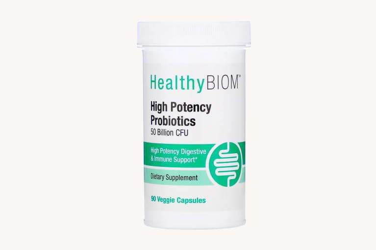 <p>HealthyBiom High Potency Probiotics</p>