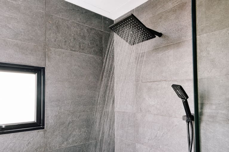 Running Water in a Modern Shower