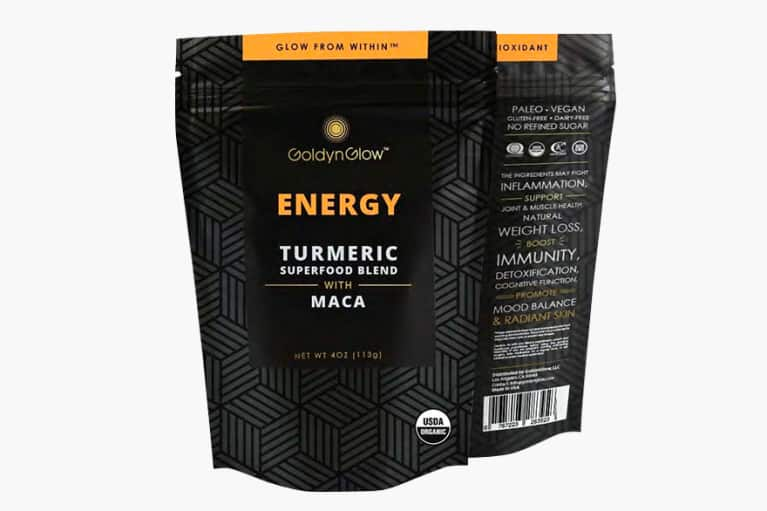 <p>GoldynGlow ENERGY Tumeric Superfood Blend</p>
