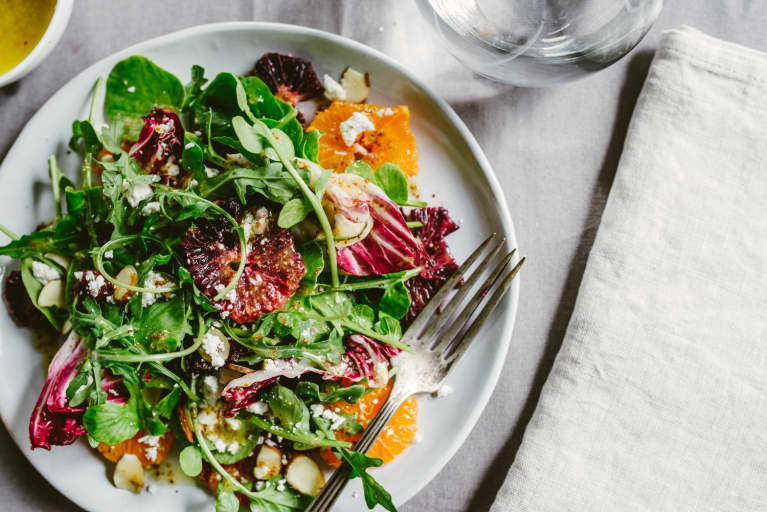 Need A Mood Boost? This Bright Salad Has An Ingredient That Can Help