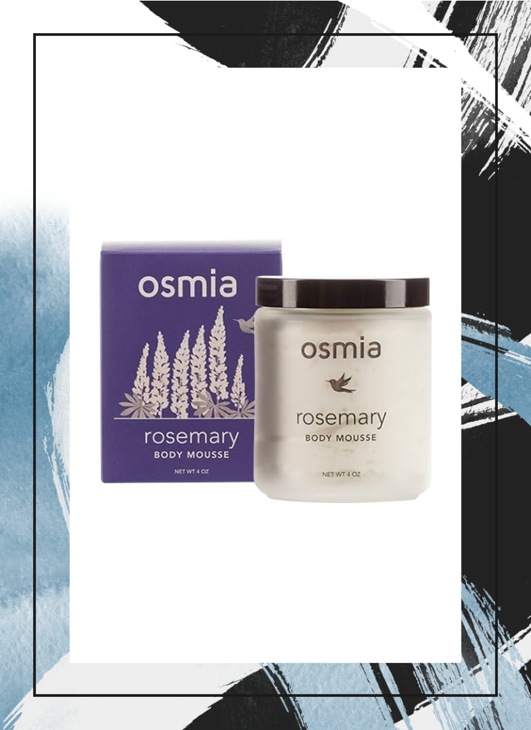 Osmia Organics Rosemary Body Mousse