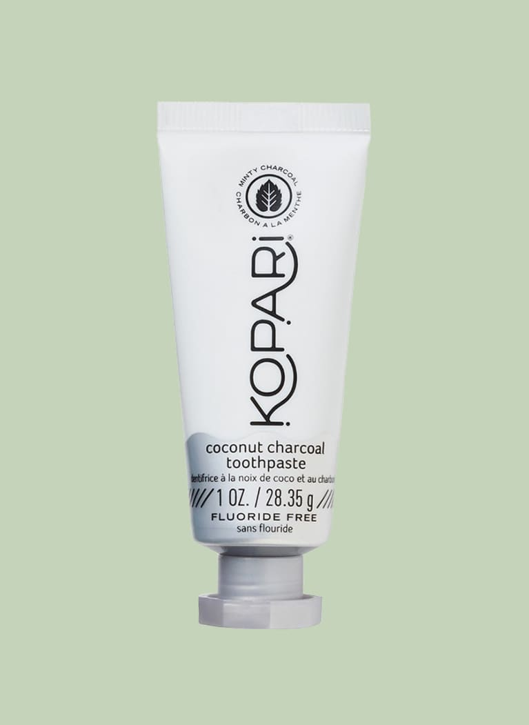 Kopari Travel Size Coconut Charcoal Toothpaste