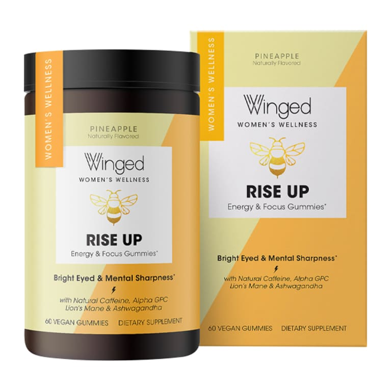 Winged: Rise Up Energy & Focus Gummies