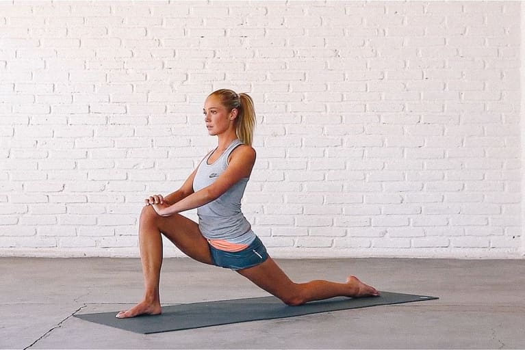 Low Lunge Pose to Help Alleviate Hip Pain