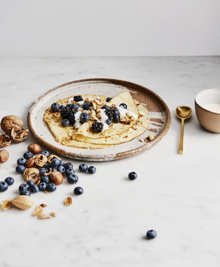This Indulgent, Dairy-Free Breakfast Is A Recipe For Glowy Skin