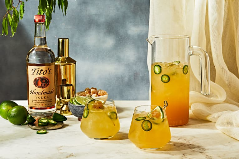 Jalapeño and Ginger Kombucha Make This Mule Kick Even Harder