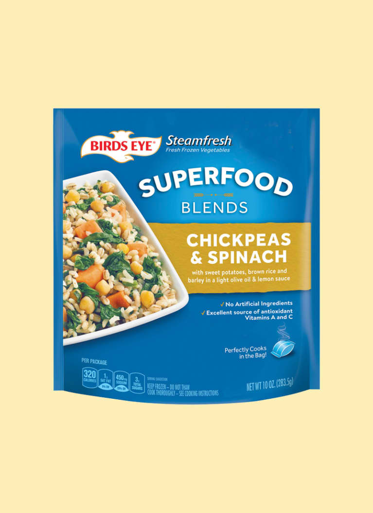 Birds Eye Superfood Blends Chickpeas & Spinach