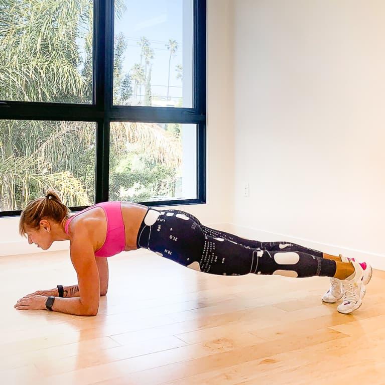 Plank Get-Ups