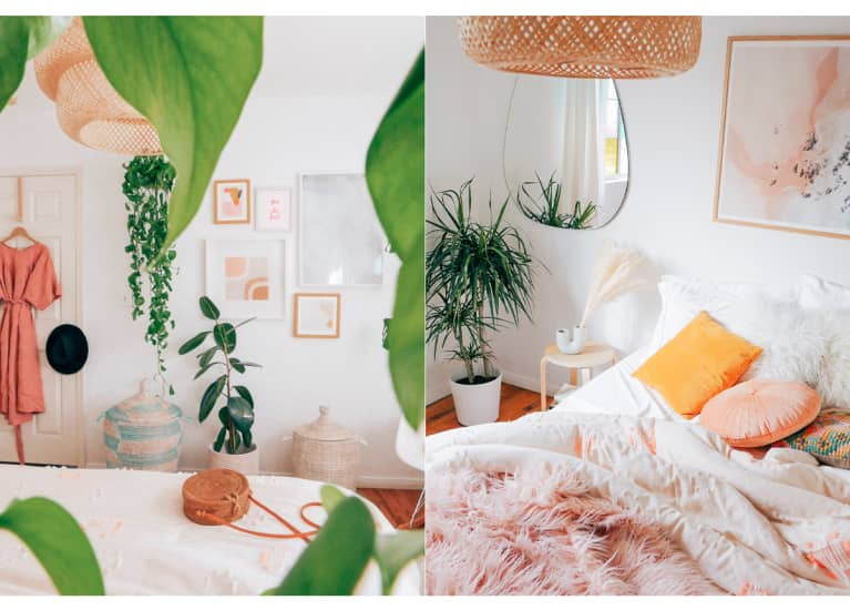Erika Carlock's dreamy LA bedroom