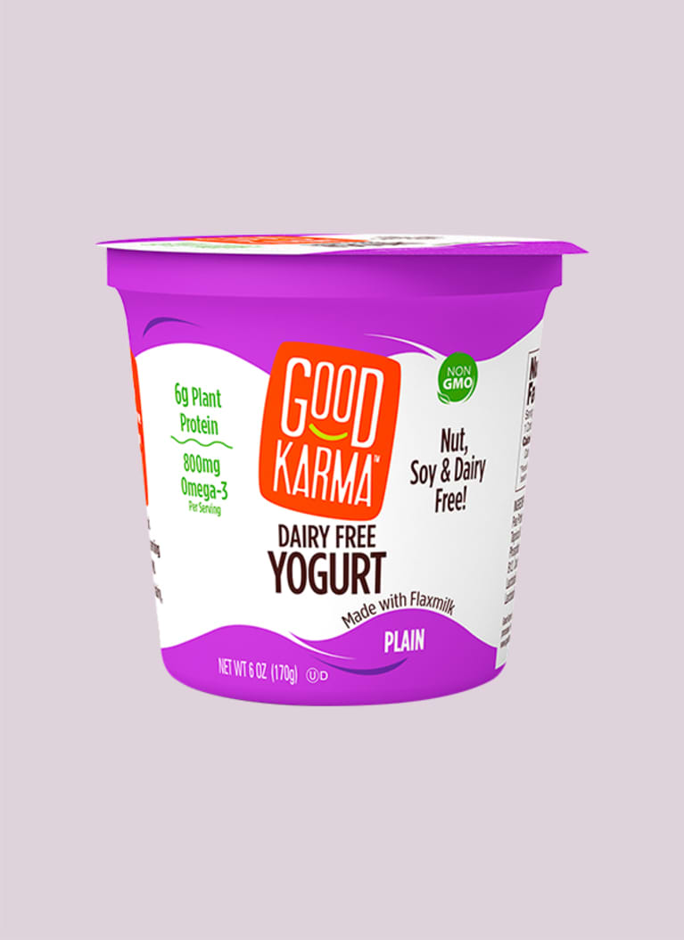 Good Karma Dairy Free Yogurt Made With Flaxmilk