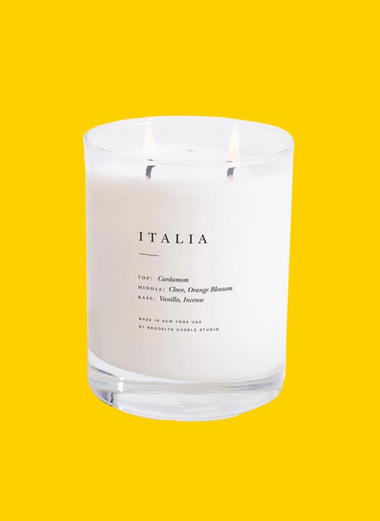 Brooklyn Candle Company white Italia Candle