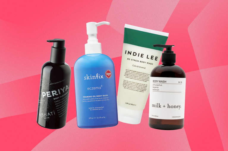 body wash roundup for dry skin