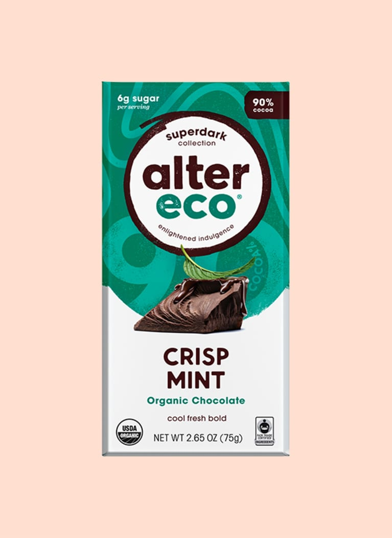 Alter Eco Superdark Crisp Mint Chocolate