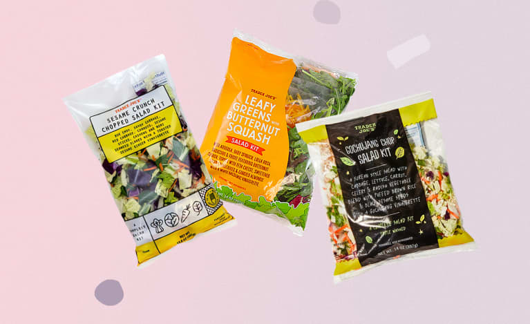 6 Salad Kits From Trader Joe's For Easy & Satisfying Desk Lunches