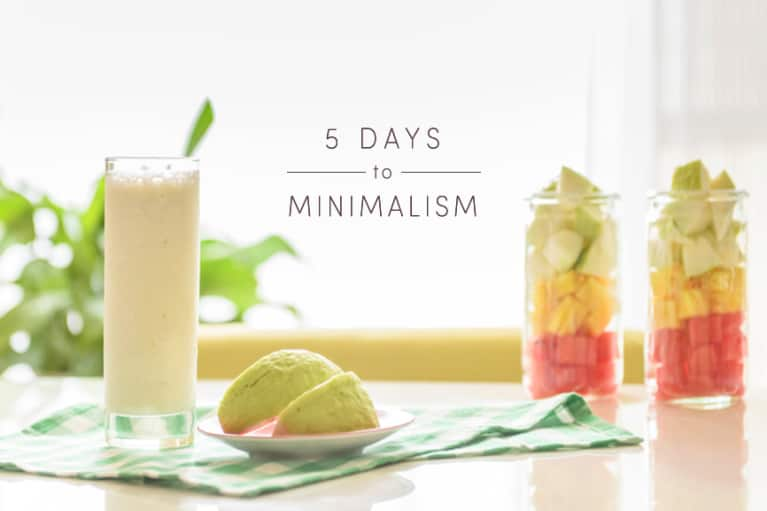 The Tastiest Ways To Apply A Minimalist Mindset To Your Food
