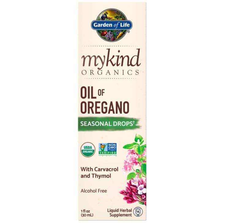 Garden of Life Oil of Oregano box