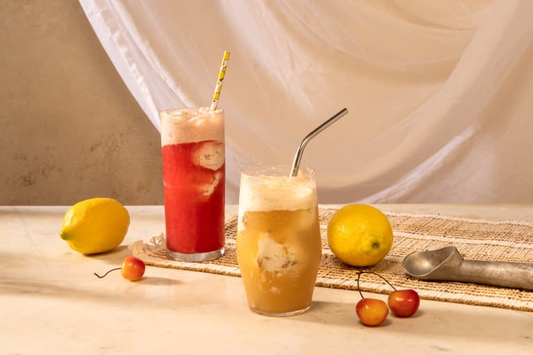 Kombucha Floats Are The Perfect July Fourth Treat — Here's How To Make 'Em