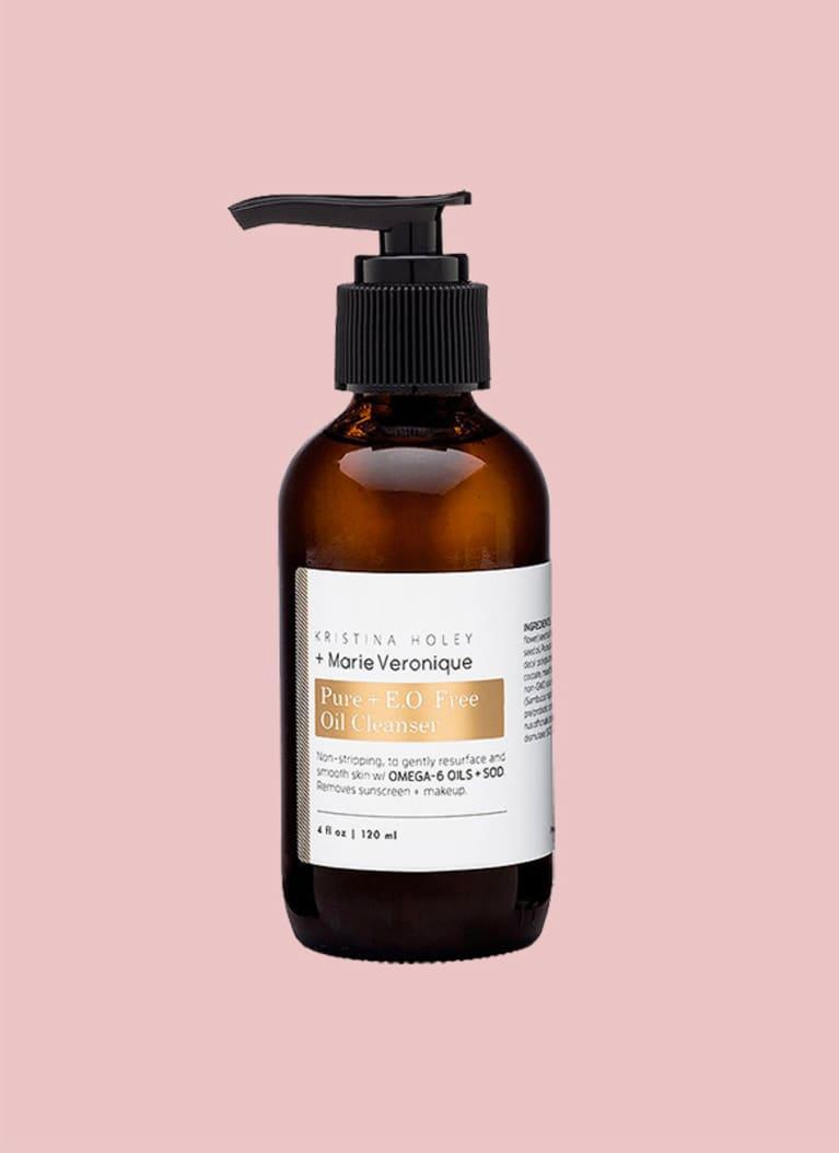 For super-sensitive skin: Pure + E.O. Free Oil Cleanser
