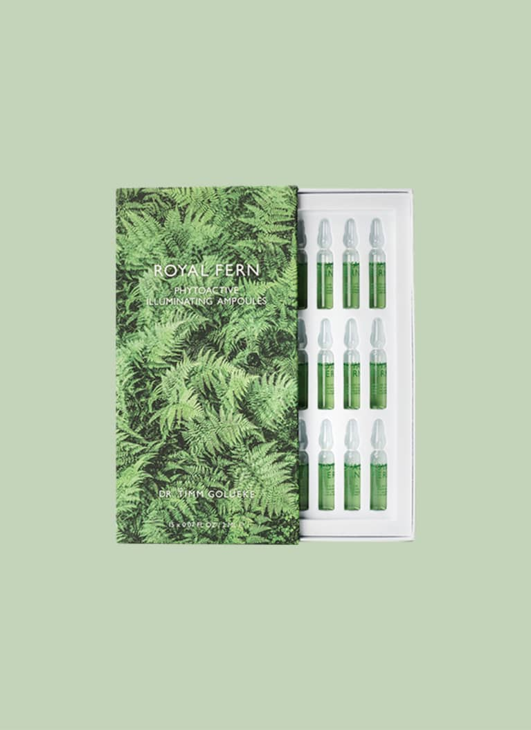 Royal Fern Phytoactive Illuminating Ampoules