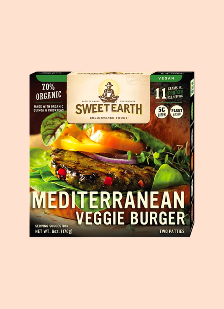Sweet Earth Frozen Mediterranean Burgers
