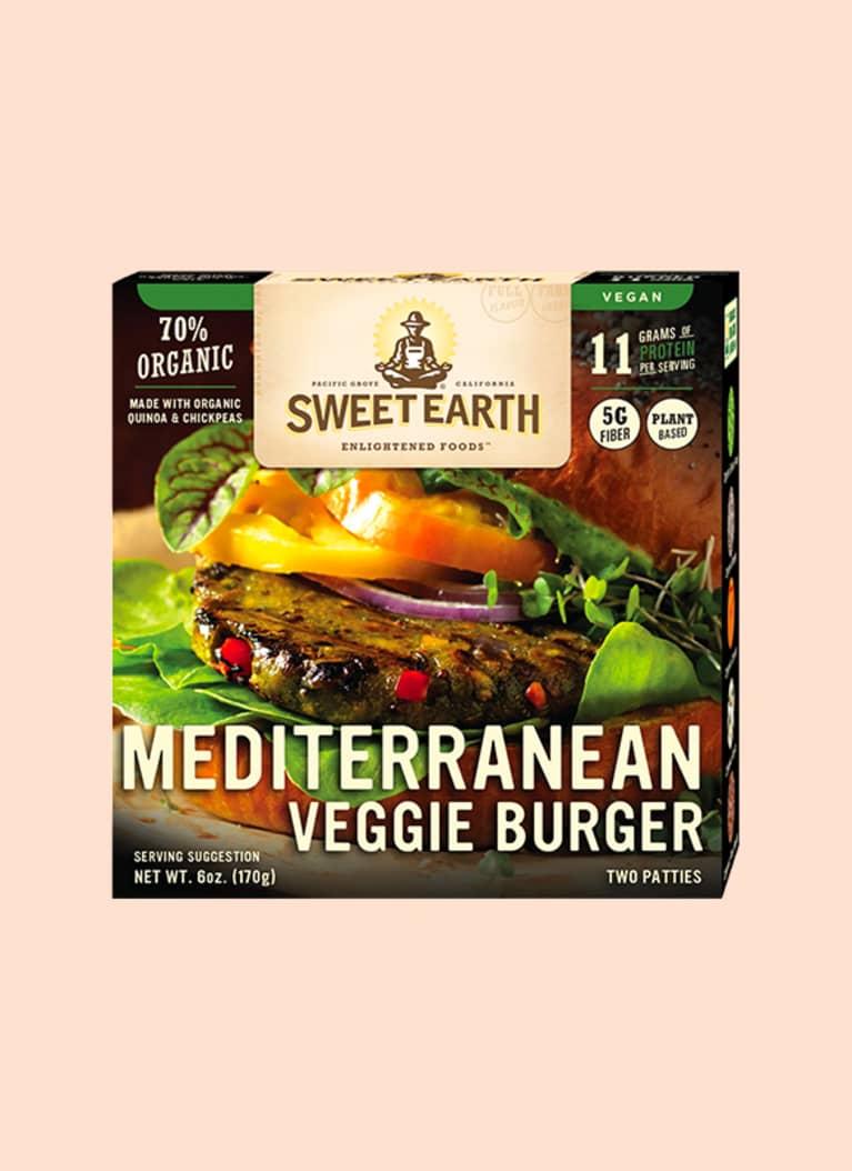Sweet Earth Frozen Mediterranean Burgers