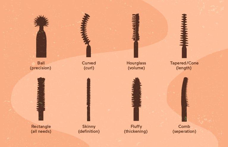 makeup brush type