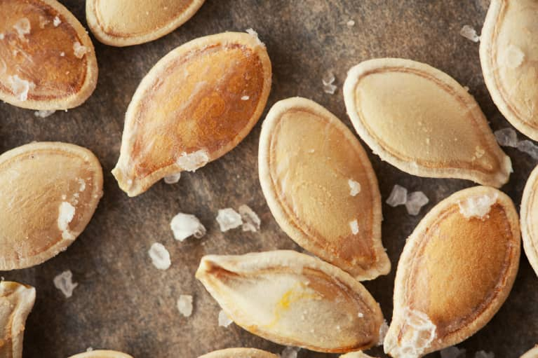 This Easy Roasted Pumpkin Seed Recipe Features Immune-Supporting Ingredients*