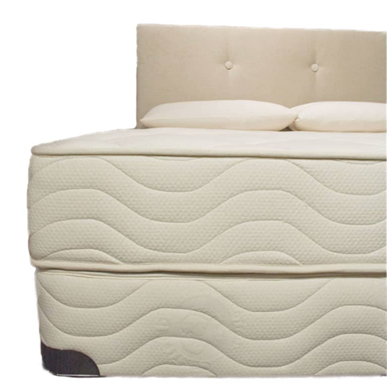 mattress with two layers