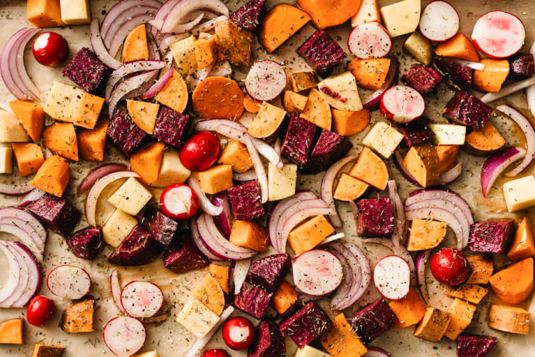 The Simple Way To Make Roasted Veggies Way Healthier