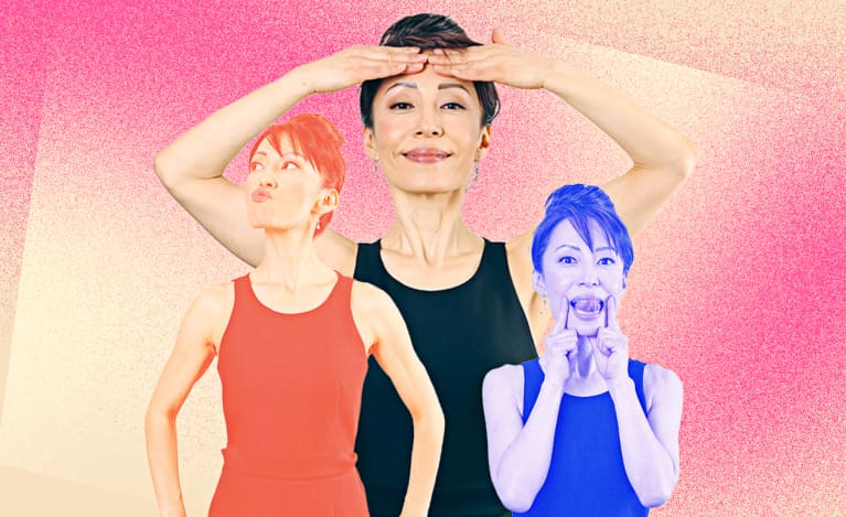 Face Yoga Can Promote Toned, Taut Skin: Here's How + 5 Poses To Try