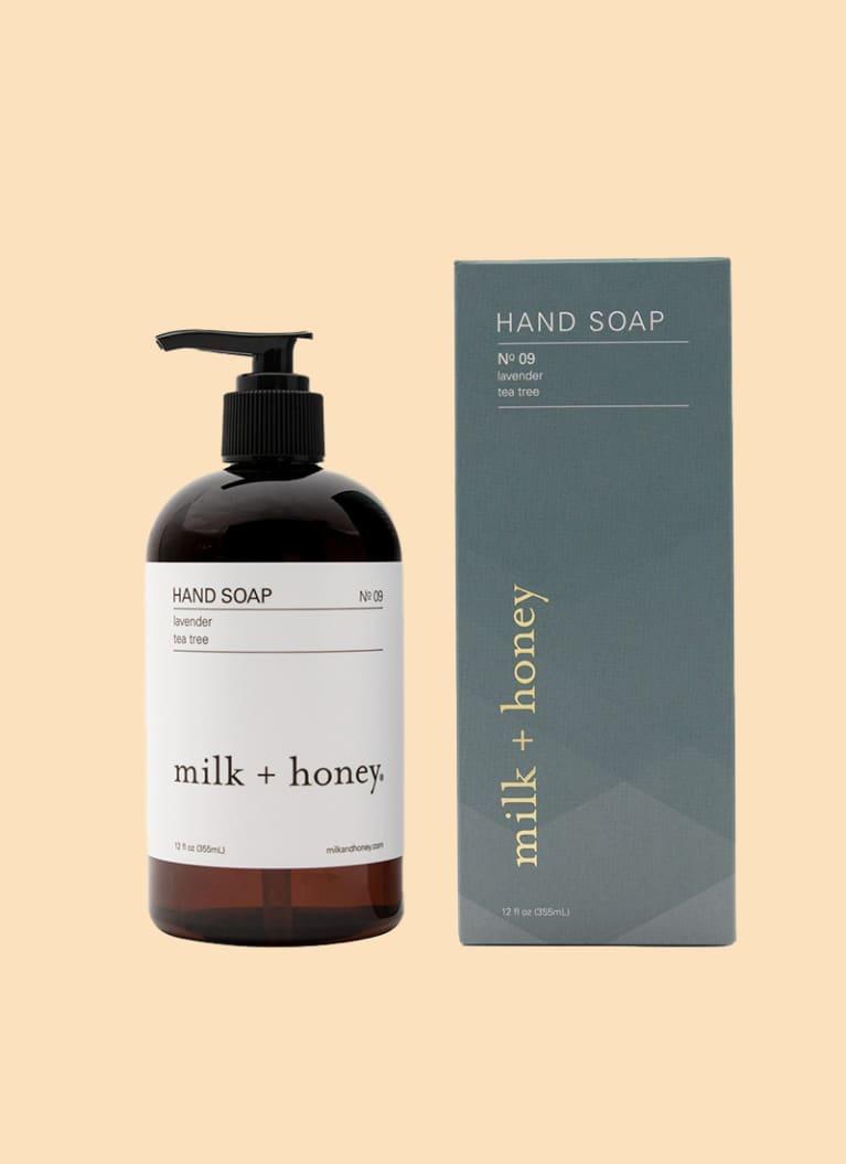 milk & honey hand wash