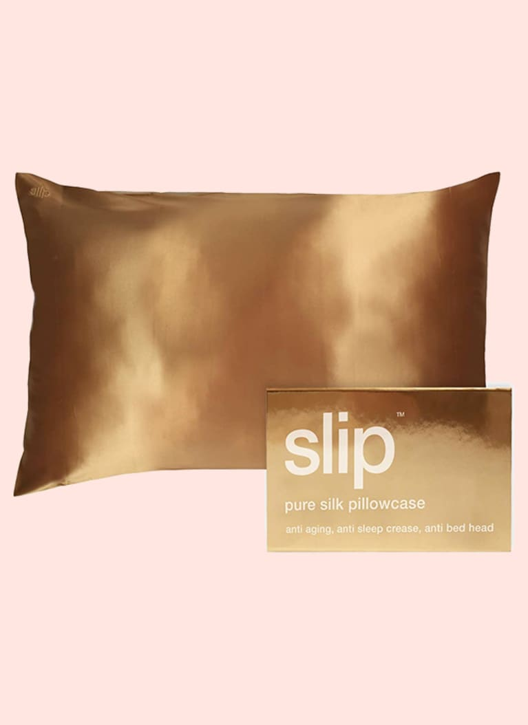 slip silk pillow